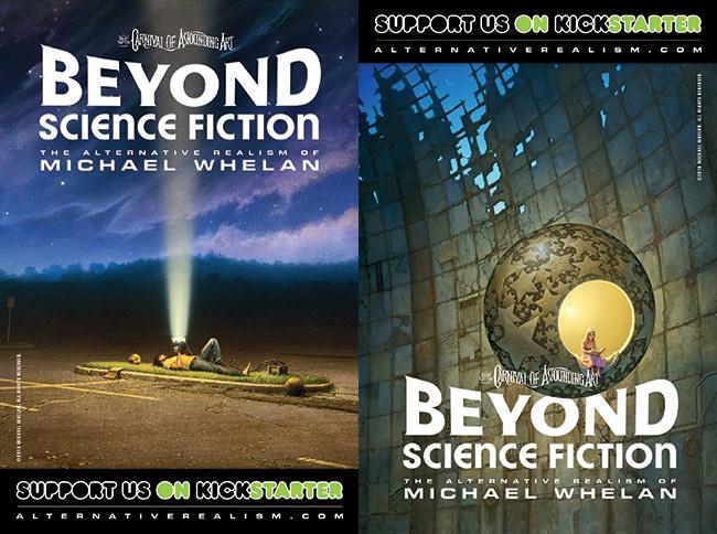 Back and Front of Kickstarter Promotional Postcard