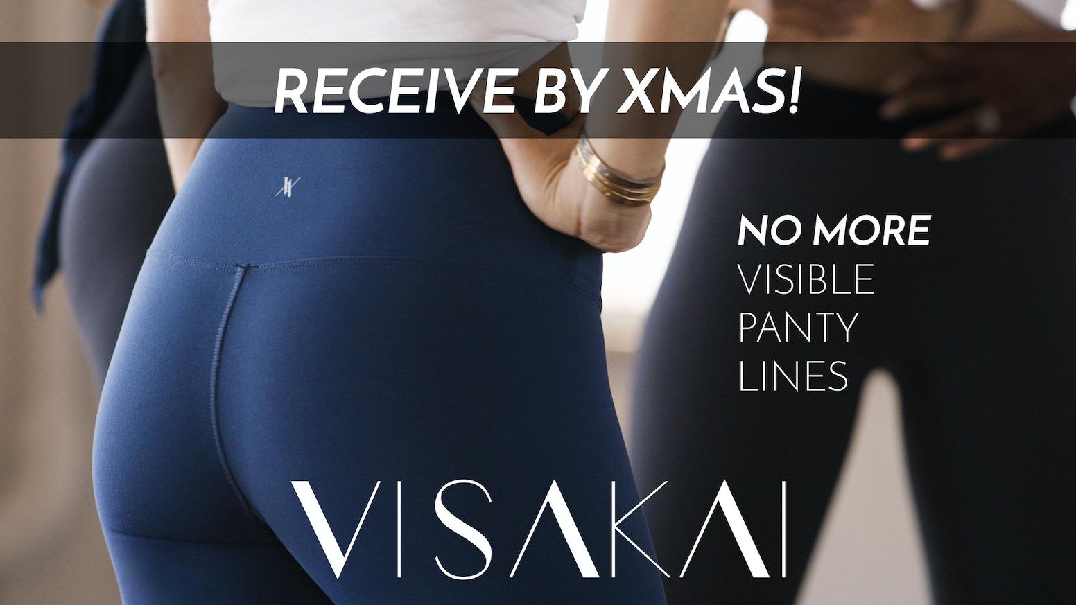VISAKAI Leggings: No more Visible Panty Lines
