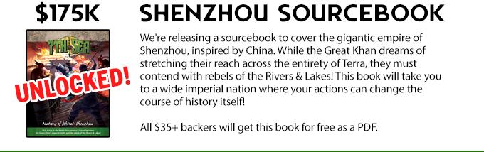 Shenzhou sourcebook unlocked!