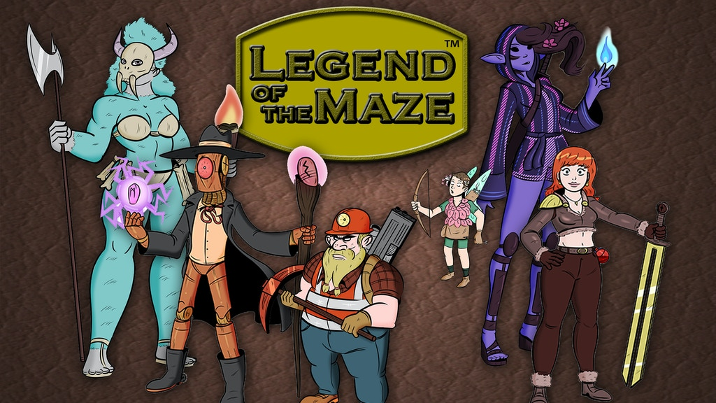 Legend of the Maze project video thumbnail