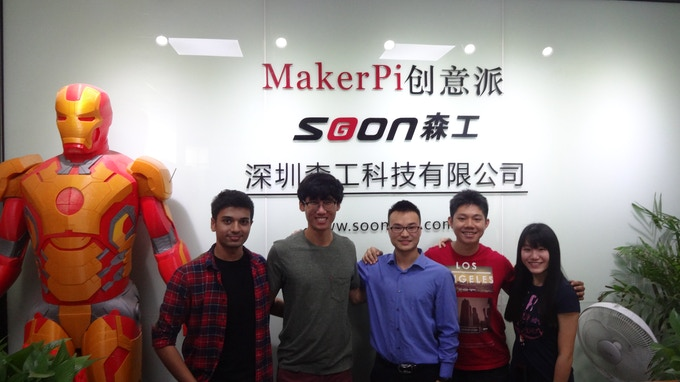 MakerPi was one of the 3D printing companies we visited to understand more about the various types of 3D printed prototypes