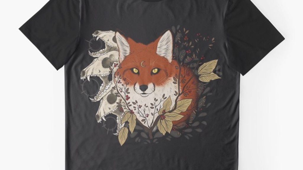 Red Fire Fox Tshirts