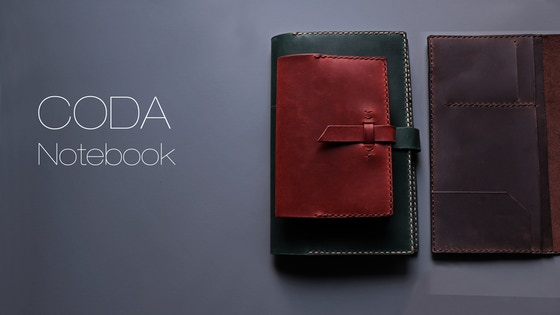 CODA Notebook 2.0 - Handmade Refillable Leather Notebook