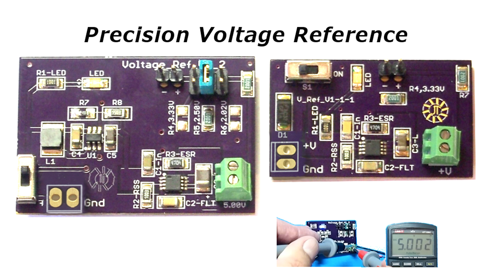 Precision Voltage Reference By Frank Fox Kickstarter Resistors Simple Divider Question Electrical Engineering
