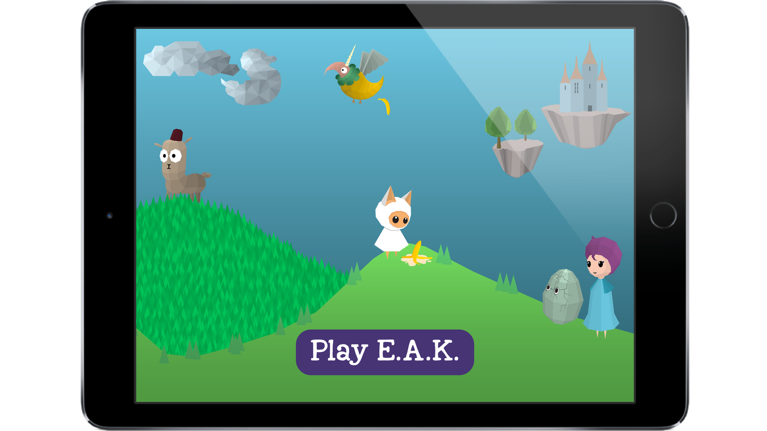 An epic adventure game designed to inspire children - especially girls - to code, whilst teaching them professional languages.