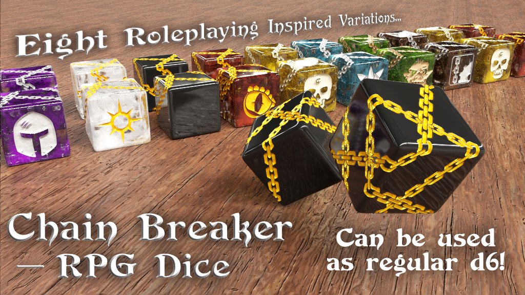 Project image for Chain Breaker – RPG Dice
