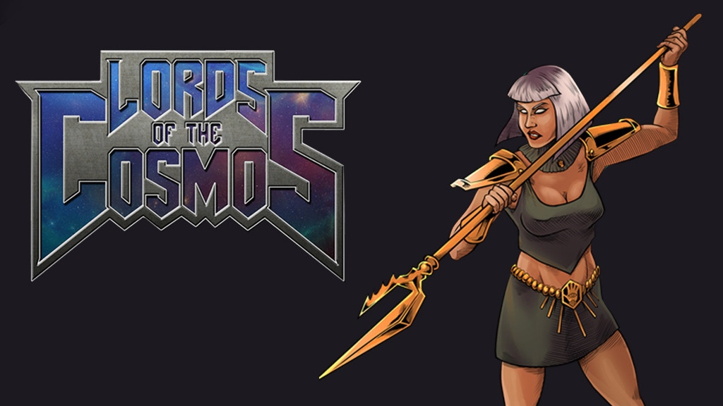 Lords Of The Cosmos Issue #2 - 1980's inspired comic book project video thumbnail
