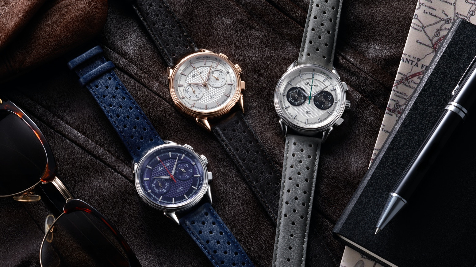 Our third watch collection - expect our trademark guilloché dial, coupe-inspired lugs, sapphire crystaI, Italian leather straps & more.