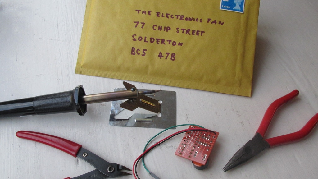 Kit-A-Month soldering subscription with Raspberry Pi option project video thumbnail