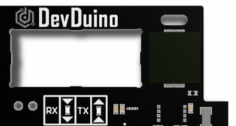 DevDuino with integrated Buzzer