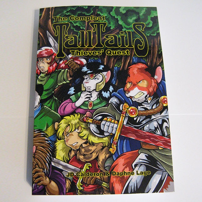 The Compleat TALL TAILS: Thieves' Quest Softcover