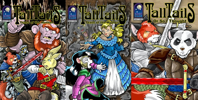 TALL TAILS: Tears of the Mother #1-2 / TALL TAILS: Or So I Thought #1