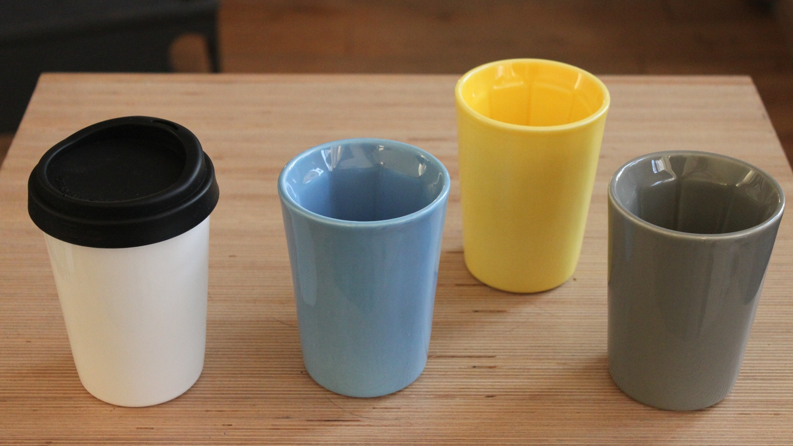 Therma Cup Now In Technicolour Ceramic Insulated Coffee