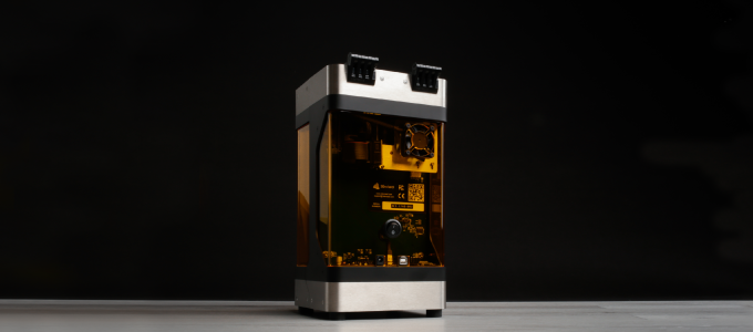 PLUTO - The world's smallest high-quality 3D Printer by 3Devised