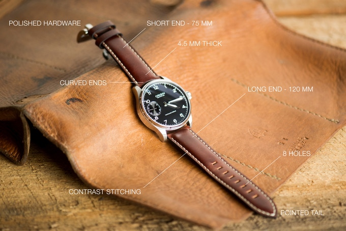 Leather Watch Strap Specifications