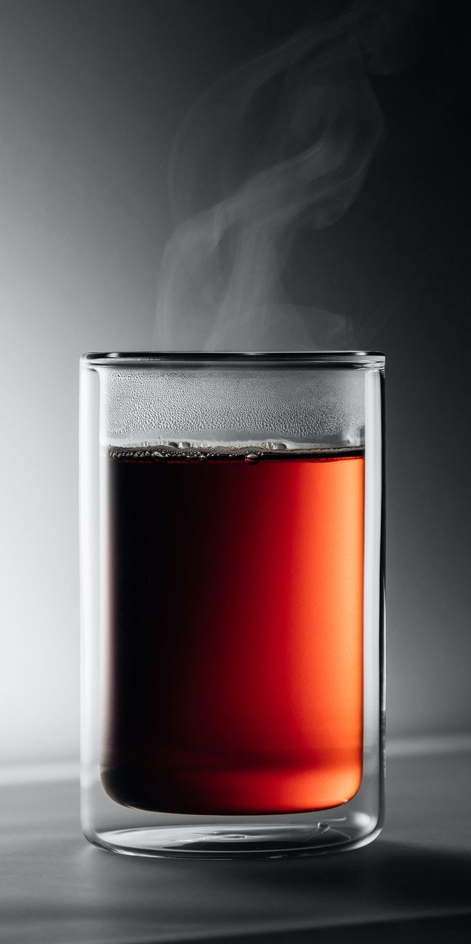 The Glass For Hot and Cold Beverages: ICEGOLD330-T