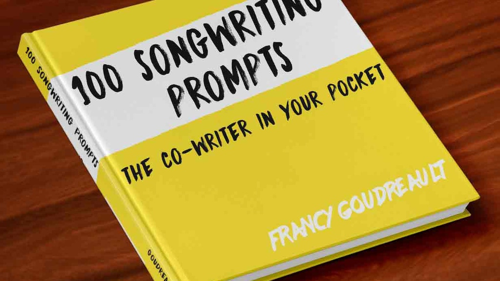 """Beat Writer's Block with """"100 Songwriting Prompts"""" project video thumbnail"""