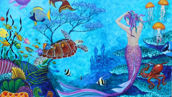 A Fish of a Different Color prints and painting commissions