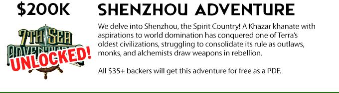 Shenzhou adventure unlocked!