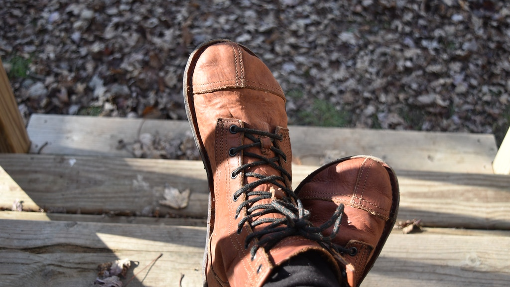 Project image for Barefoot, Minimalist, Bison Leather Boots