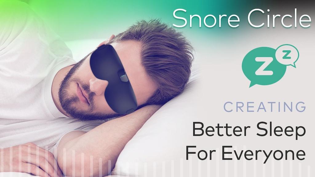 Snore Circle - Smart Anti-Snoring Eye Mask miniatura de video del proyecto
