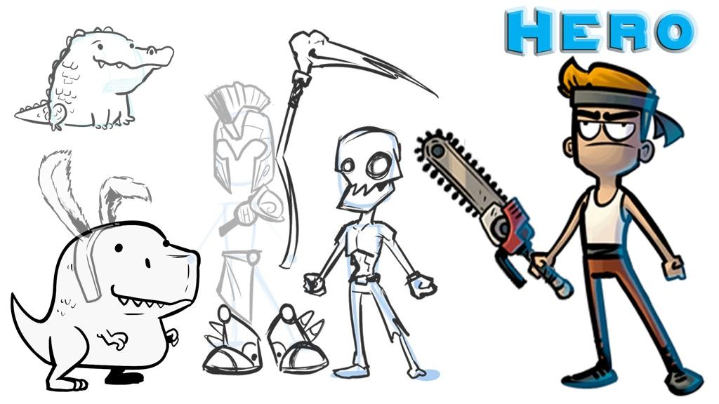 Hero: Prepare your champion. Alpha development stage project video thumbnail
