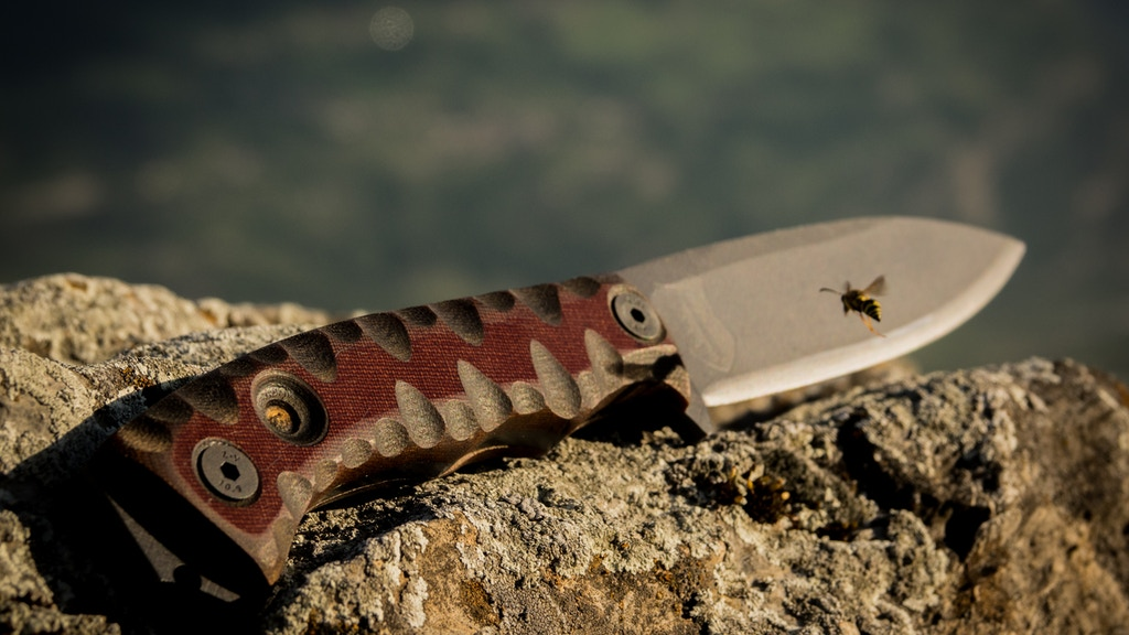 """The MK1 """"Leaf"""", a Survival / Bushcraft knife project video thumbnail"""
