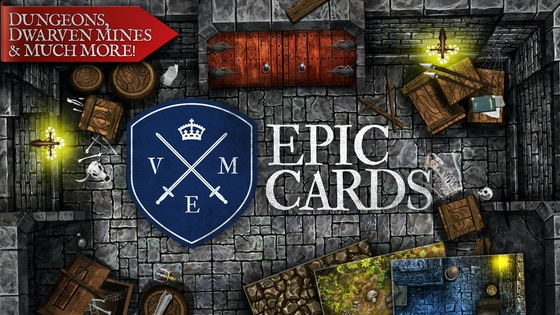 Epic Cards: Colorful, Modular Tiles for RPG and D&D Games