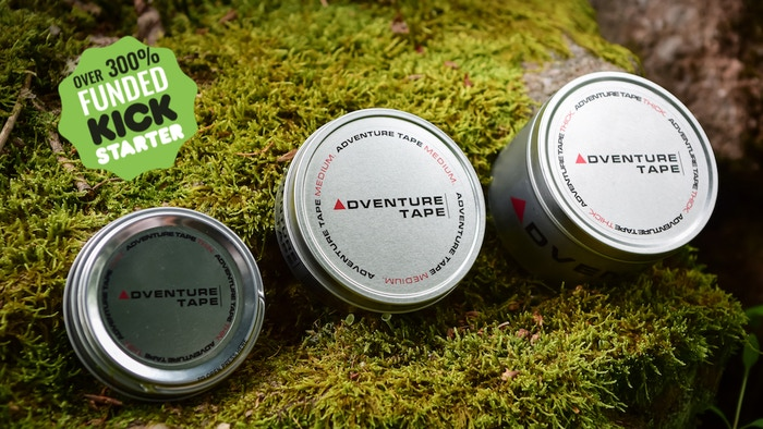 Adventure Tape® is the perfect rescue solution when the unexpected happens to your gear at the worst time and location possible!