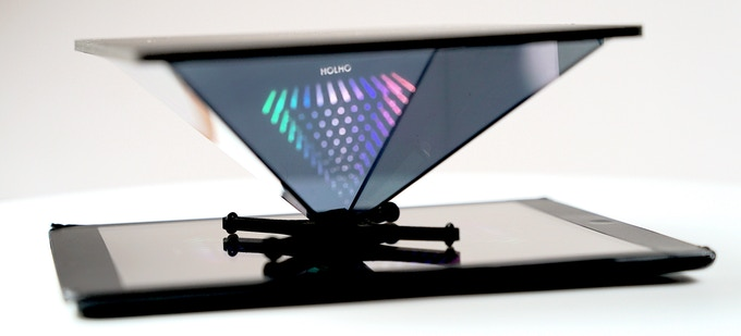 HOLHO transforms YOUR devices into HOLOGRAM PROJECTORS by