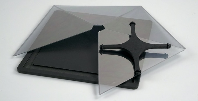 PYRAMID  for TABLET - disassembled