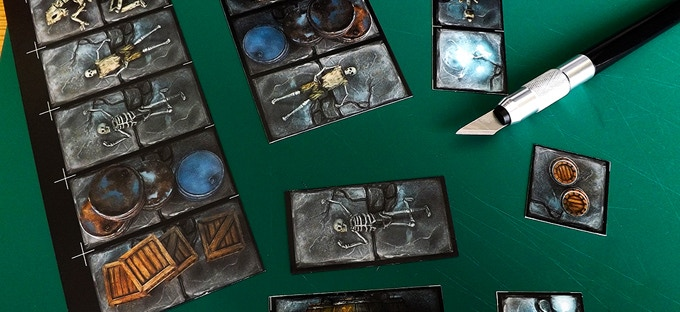 cut-out objects of our previous Sewer map-tiles