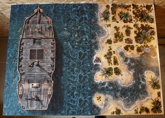 Our Tropical Islands and the Pirate Ship by Lord Zsezse Works