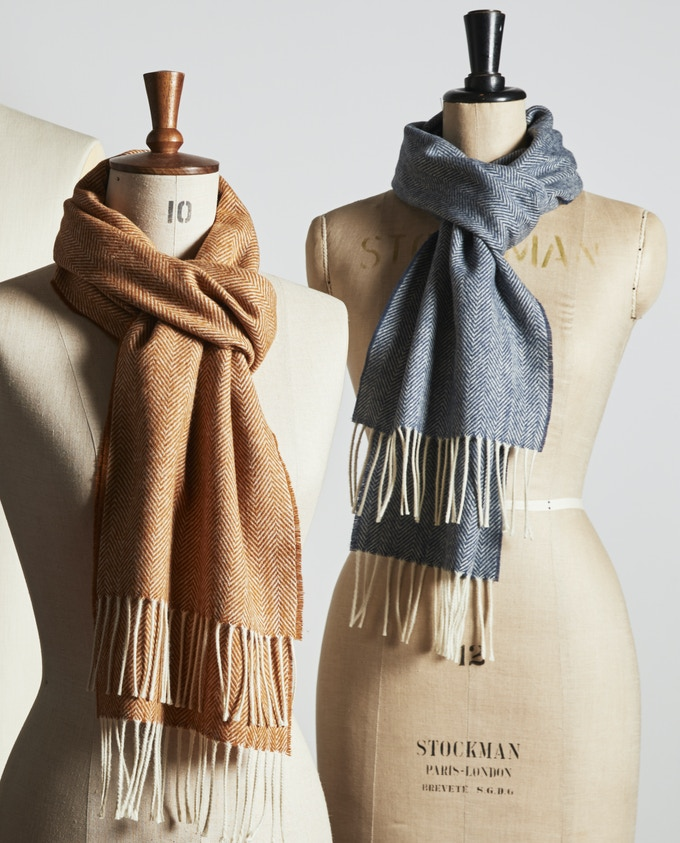 Colour Pack of Two Scarves