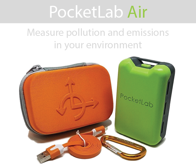 PocketLab Air: Measure What's in Your Air