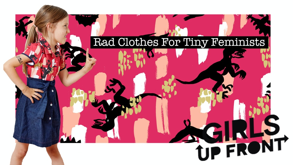 Girls Up Front project video thumbnail