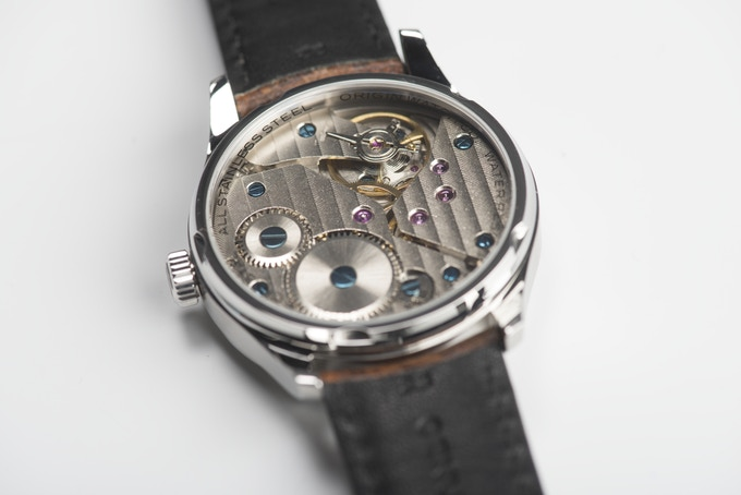 Open Caseback with Sapphire Crystal