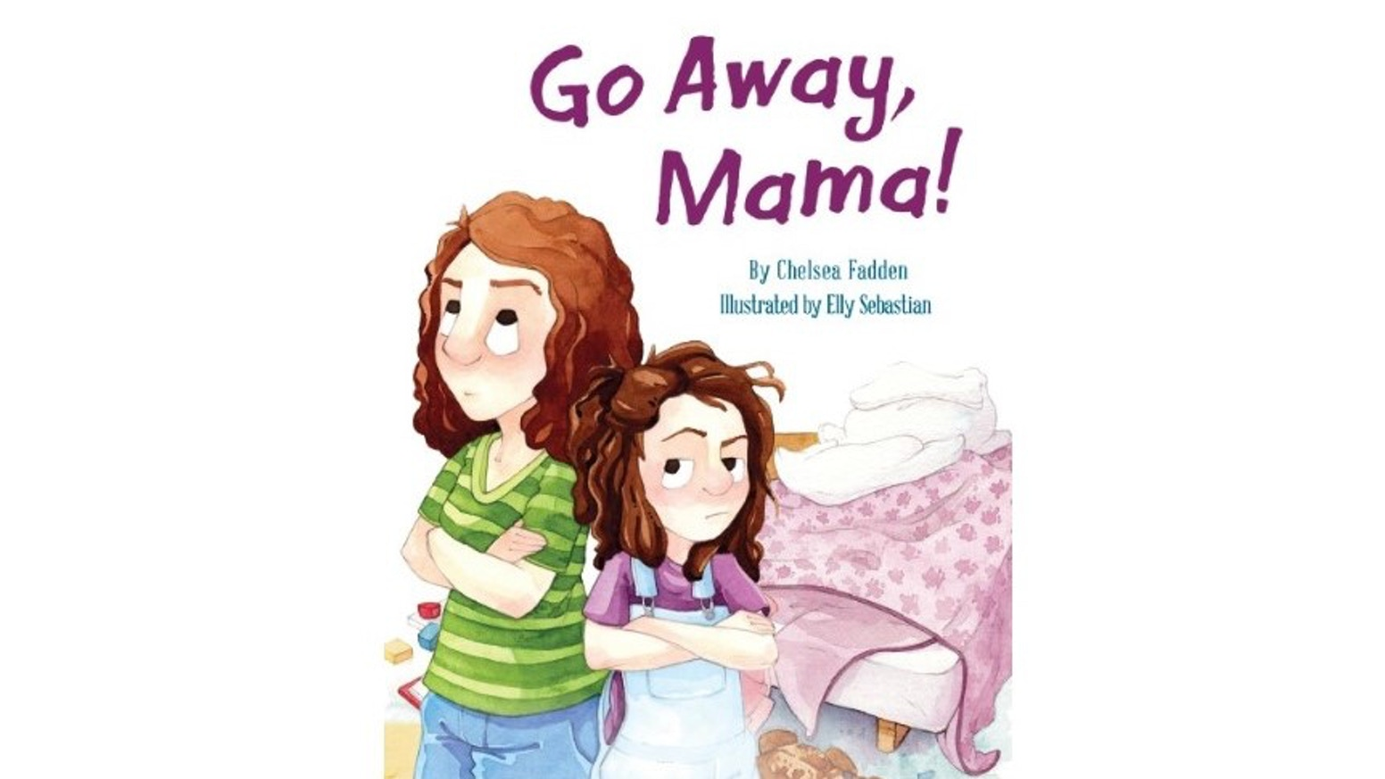 A children's book about a strong-willed girl and her devoted mom who navigate life's milestones together.