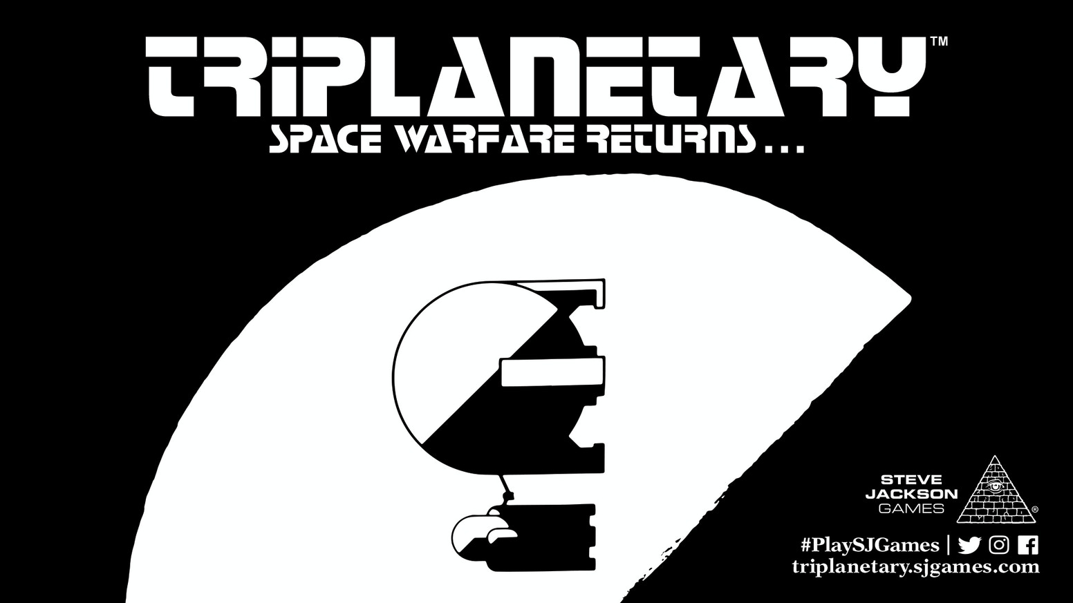 From the dawn of the hobby, a classic space game returns . . . Triplanetary depicts ship-to-ship space combat in the Solar System!