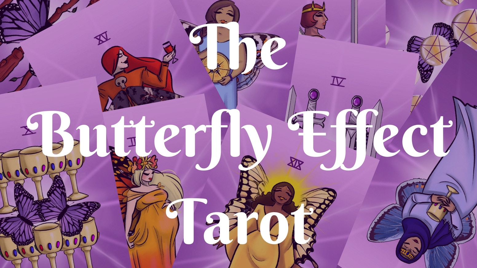 The Butterfly Effect Tarot explores the Tarot through the lens of Body Positivity and Diversity.