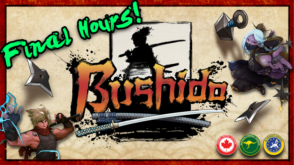 Bushido, The Way of the Warrior Game project video thumbnail