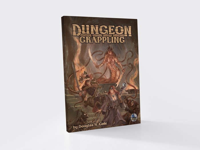 Give grappling a well-deserved boost with this gripping supplement. Usable with RPGs from the OSR through 5e.