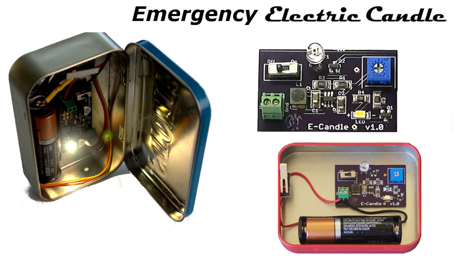 Emergency Electric Candle By Frank Fox Kickstarter Electronic