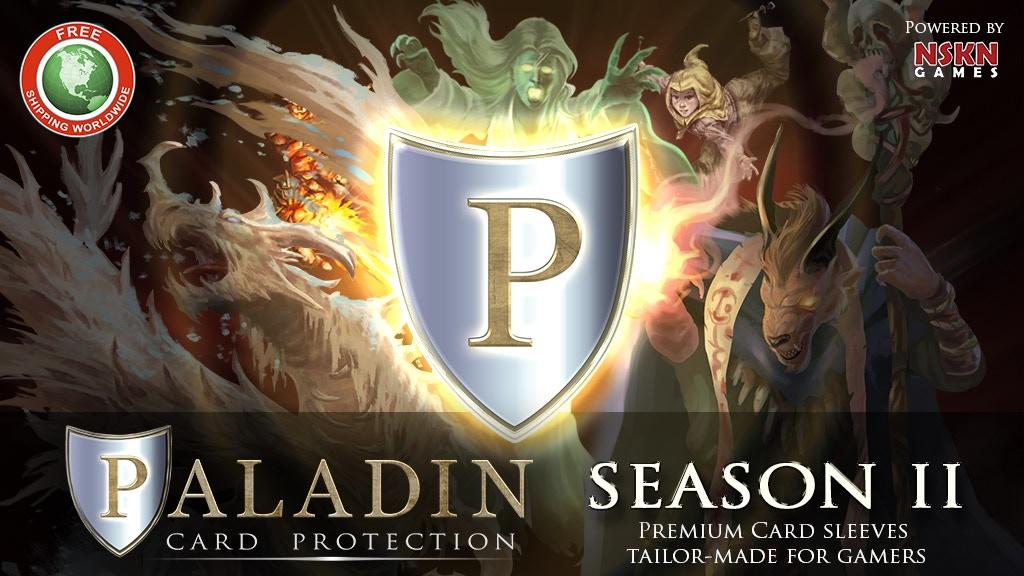 Paladin Card Protectors: Season 2 project video thumbnail