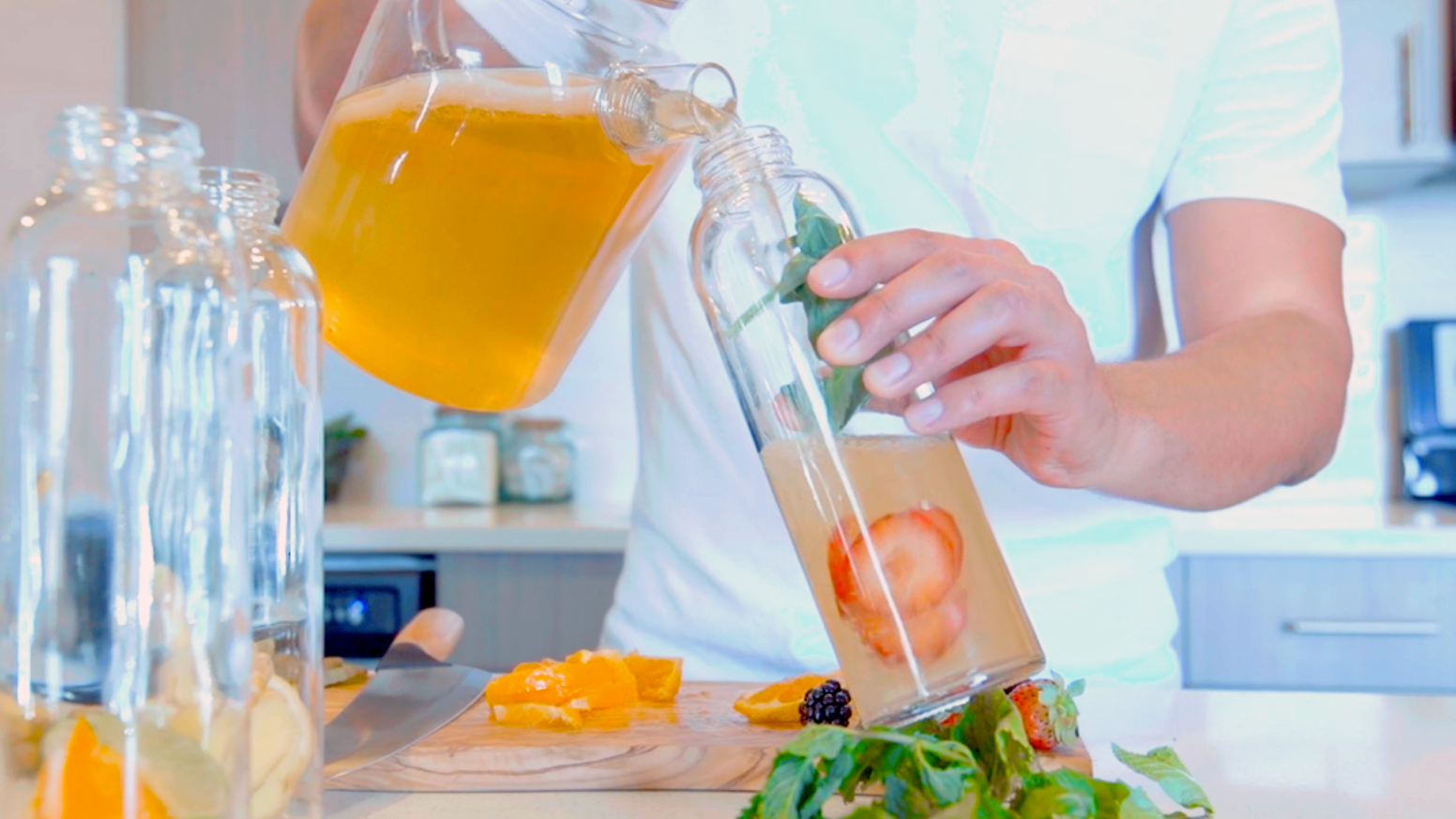 The Easiest Way to Make Real Kombucha at Home