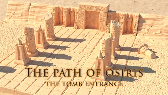 The Tomb Entrance - Include all free stretch goals
