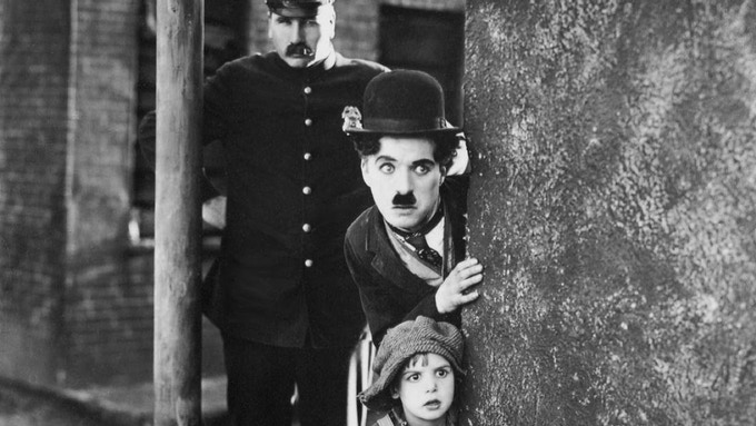 Fred shared a stage with a young Charlie Chaplin