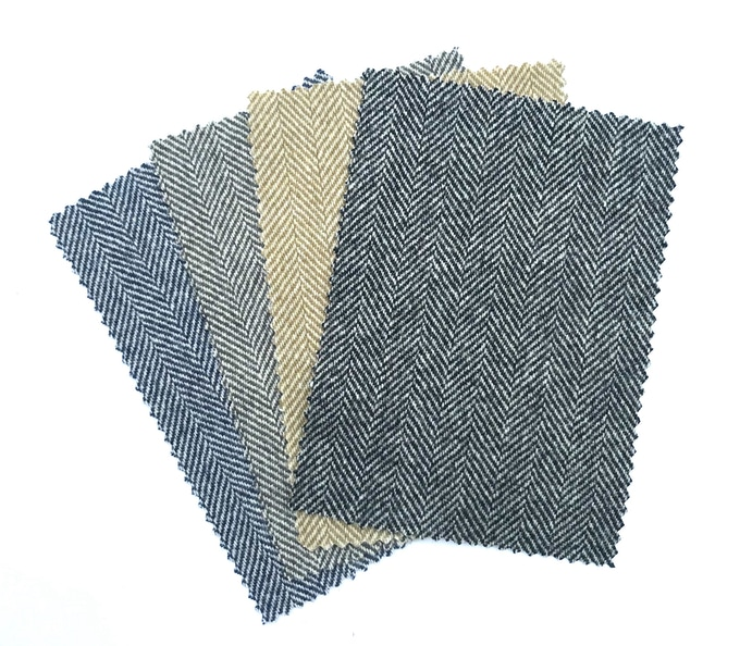 The Great Northern Cloth, four colour ways