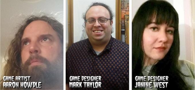 Aaron Howdle, Mark Taylor, Janine West