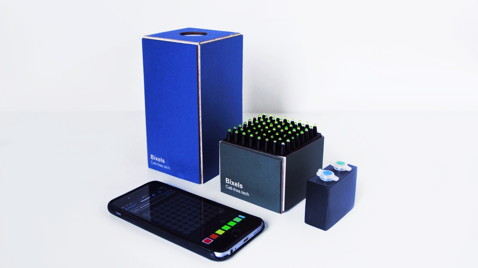Bixels dna bio display by cell free technology kickstarter bixels dna bio display solutioingenieria Choice Image